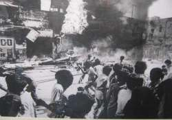 government did not allow police to act during 1984 riots