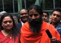 govt rejects ramdev s allegations on detention at uk airport