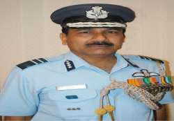 iaf chief stresses on personnel training