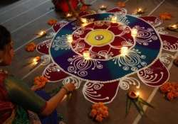 india celebrated diwali with traditional fervour