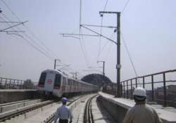 delhi metro to operate at highest point in dhaula kuan
