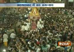 ahmedabad celebrates 138th rath yatra of lord jagannath eid- India Tv