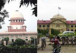 something rotten in allahabad high court says sc