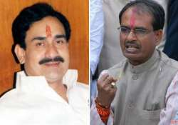 congress slams bjp over ec notice to mp cabinet minister