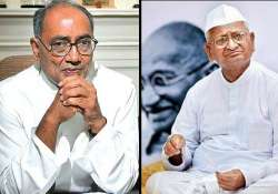 hazare losing his credibility digvijay