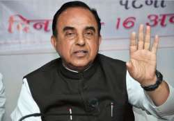 swamy s mosque comments create uproar in rajya sabha