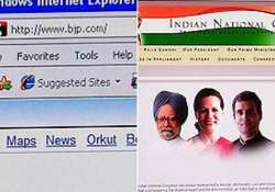 bjp cong clash in cyber space