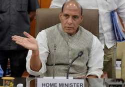 hm rajnath singh to be briefed on sino indian border