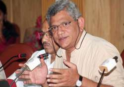 yechury hints at cpi and cpi m merger