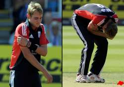 broad out of india odi tour with shoulder injury