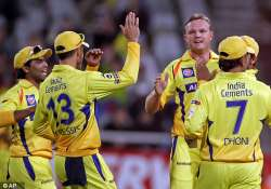 chennai super kings beat yorkshire by four wickets