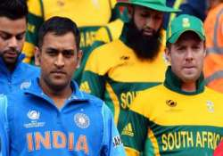 india south africa series india won the toss elects to field