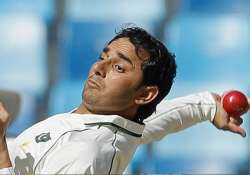 saeed ajmal takes 1 23 vs kenya with world cup hope