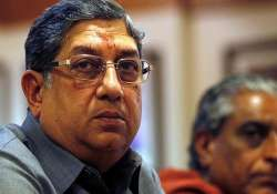 n srinivasan refuses to comment on west indies team s