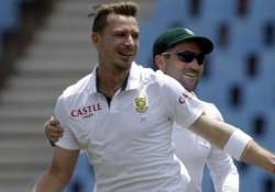 south africa suffer body blow as steyn ruled out of second