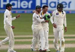 pak vs nz scoreboard at stumps 2nd test day 4