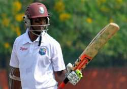 wi vs ban west indies 341 8 in 2nd test vs bangladesh