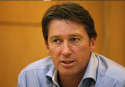 i would not like to see kids sledging on field mcgrath