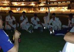 oval officials angry over pitch party in which england