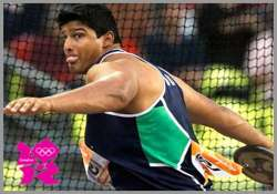 asian athletics vikas gowda wins first gold for india in