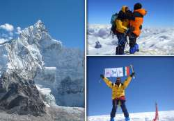 three mountaineers from jharkhand scale mt everest