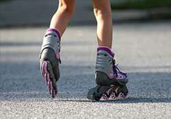 11 year old indian roller skater sets new world record