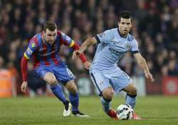 man city loses 2 1 to crystal palace in premier league