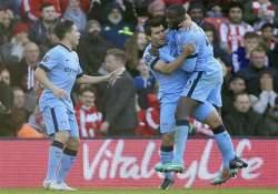 epl 10 man man city beat southampton 3 0 at st. mary s