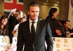 david beckham picked soccer over girls while growing up