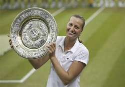 wimbledon second title for petra kvitova