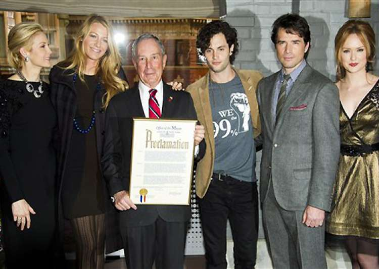 mayor bloomberg proclaims jan 26 as gossip girl day in new york- India Tv