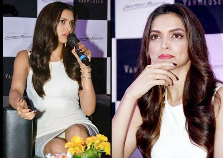 oops deepika flashes undies suffers wardrobe malfunction at an event see pics- India Tv