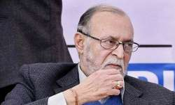 File photo of Lt Governor Anil Baijal.