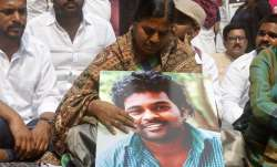 Rohith Vemula's mother accepts Rs 8 lakh compensation from