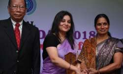 Sangliana commented on Asha Devi at an event in Bengaluru