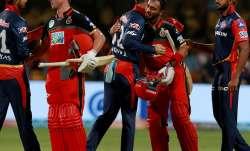 Explosive batsman AB de Villiers enthralled the crowd with