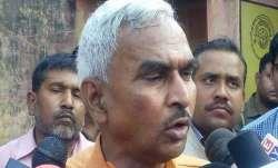 Criminal got killed by soldier: BJP MLA Surendra Singh again defends Ballia Shooting main accused