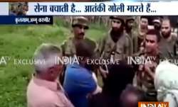 Indian Army explains to people of Kashmir how