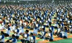 International Yoga Day celebrations in Dehradun