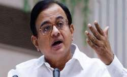 Senior Congress leader P Chidambaram.