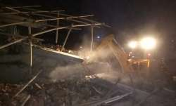 Greater Noida: Six-storey building crashes into another in