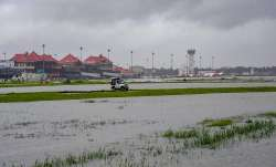 Submerged area near Cochin International Airport after
