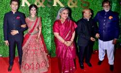The veteran couple Amitabh Bachchan and Jaya Bachchan