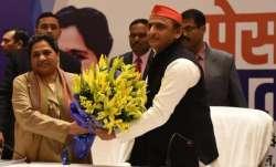 Mayawati and Akhilesh Yadav
