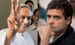 Odisha Chief Minister Naveen Patnaik (left) and Congress