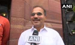 Senior Congress leader Adhir Ranjan Chaudhary