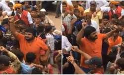 Celebratory firing at Kutch's Gandhidham after Eid,
