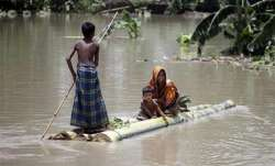 Two killed, several villages affected in Andhra floods