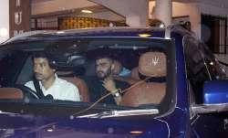 Arjun Kapoor arrived forRitesh Sidhwani's party looking