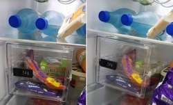 Man installs locker in fridge to protect his chocolates
